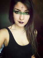 Headhunter Nidalee Makeup by Dragunova-Cosplay