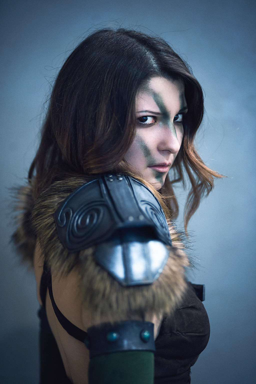 aela the huntress skyrim cosplay by dragunovacosplay on