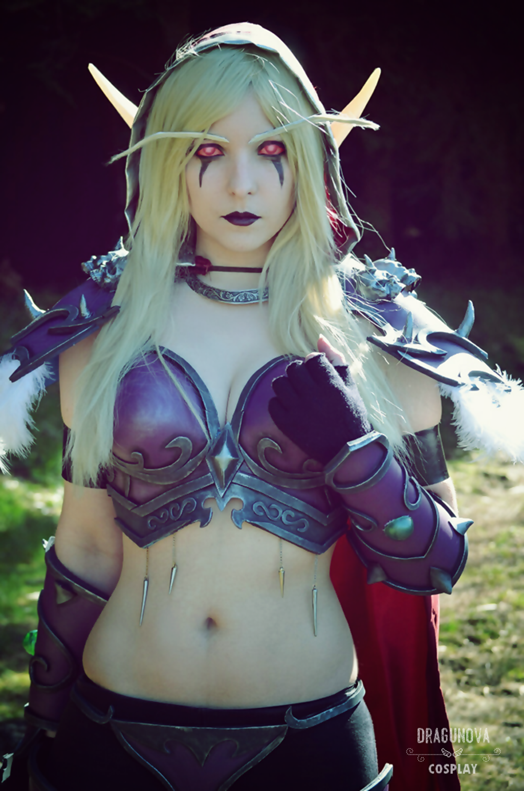 Wow sylvanas cosplay sexy photo