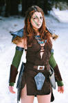 Aela the Huntress - Skyrim cosplay