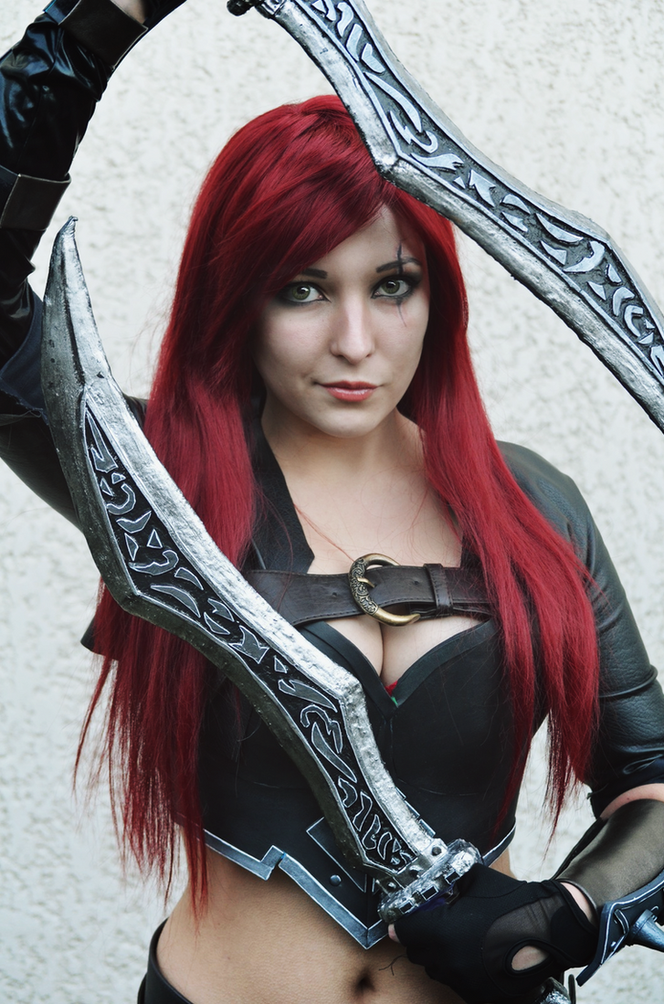 Katarina Cosplay - League of Legends by Dragunova-Cosplay