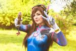 D.Va cosplay from Overwatch