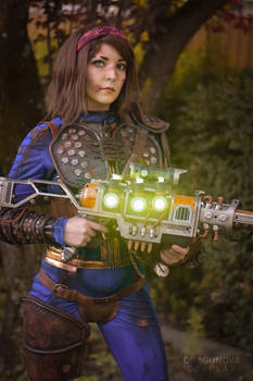 Leather Armor from Fallout 76 Cosplay