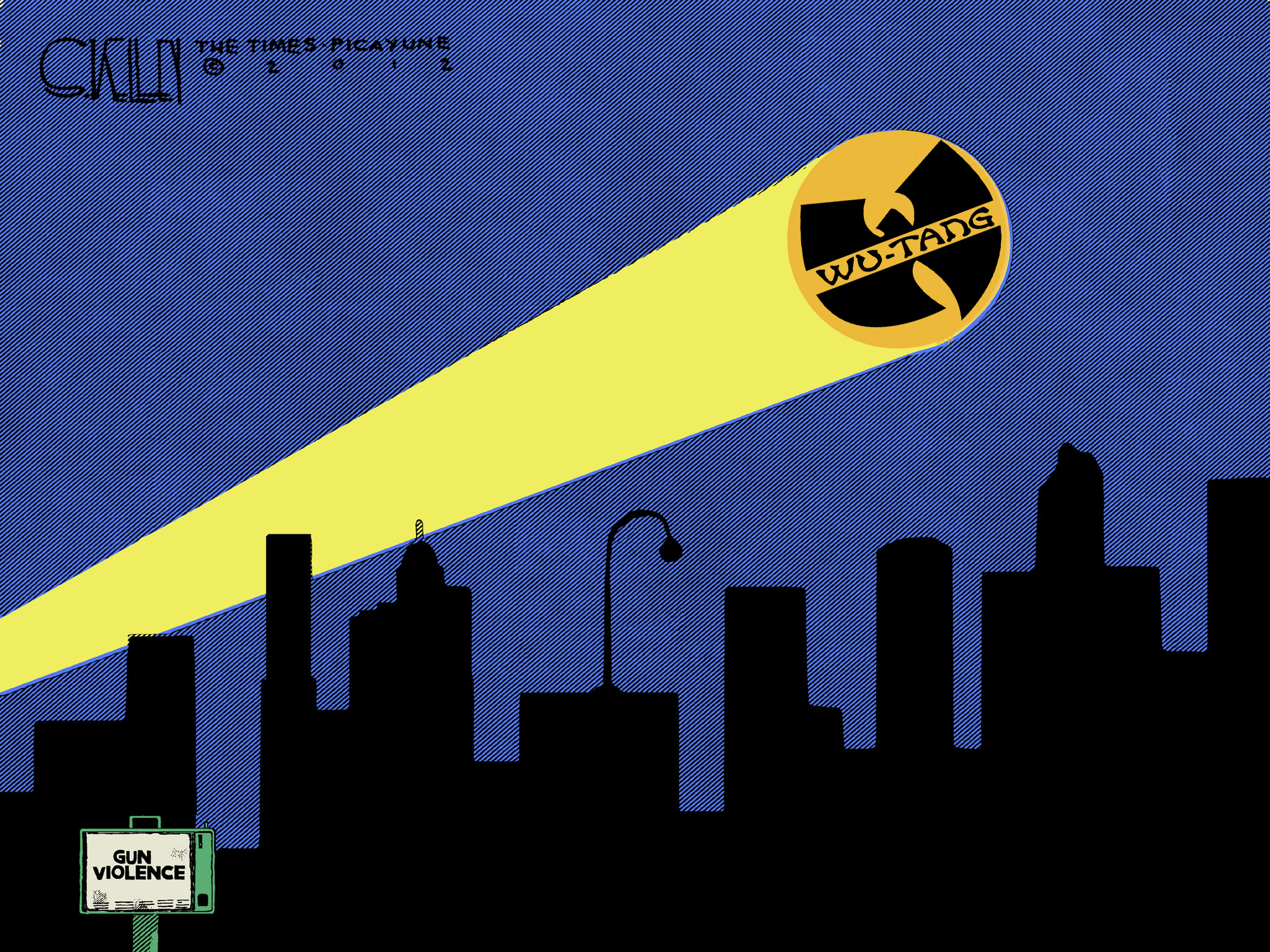 Wu-Tang Clan Signal (Bat-Signal) by Audico on DeviantArt