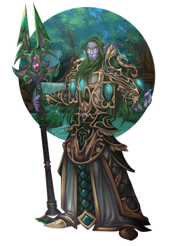 Blakenfeder - Wow Character Portrait Series