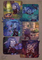 Lil' rogue's daily adventures