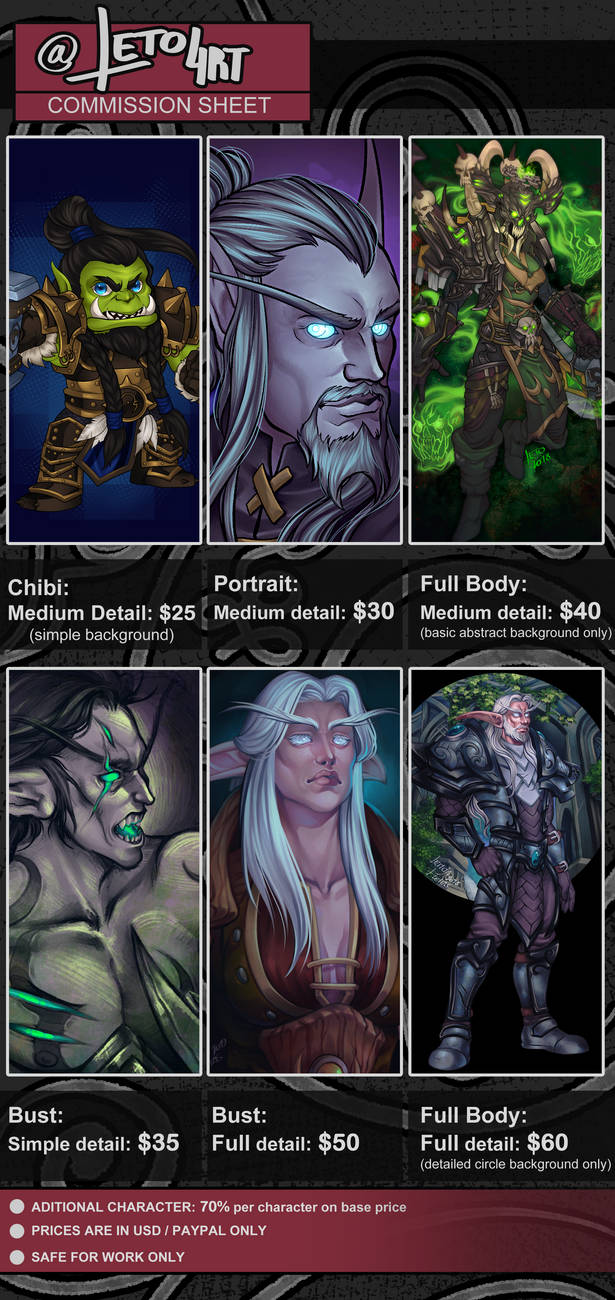 Commissions Open