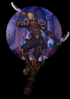 Thyraeth (2) - Wow Character Portrait Series