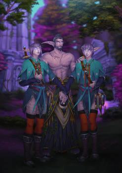 Narenthil, Elunyr and Elumyr
