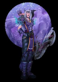 Kiralia - Wow Character Portrait Series