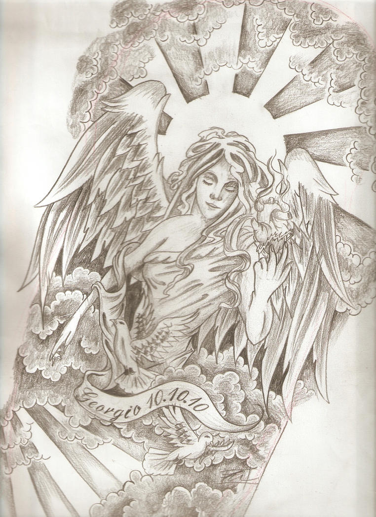 religious half sleeve by dude skinz tattooing on deviantart