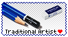 Traditional Artist Stamp by connorbara
