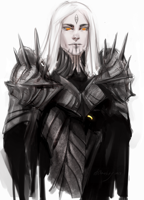 Sauron by kimberly80 on DeviantArt