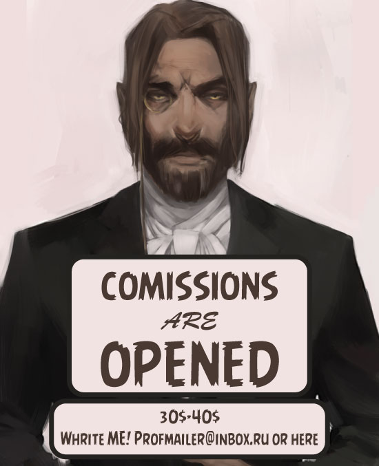 Comissions are OPENED! by anastasiyacemetery