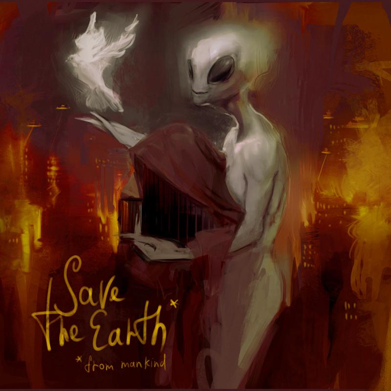 Save The Earth by anastasiyacemetery
