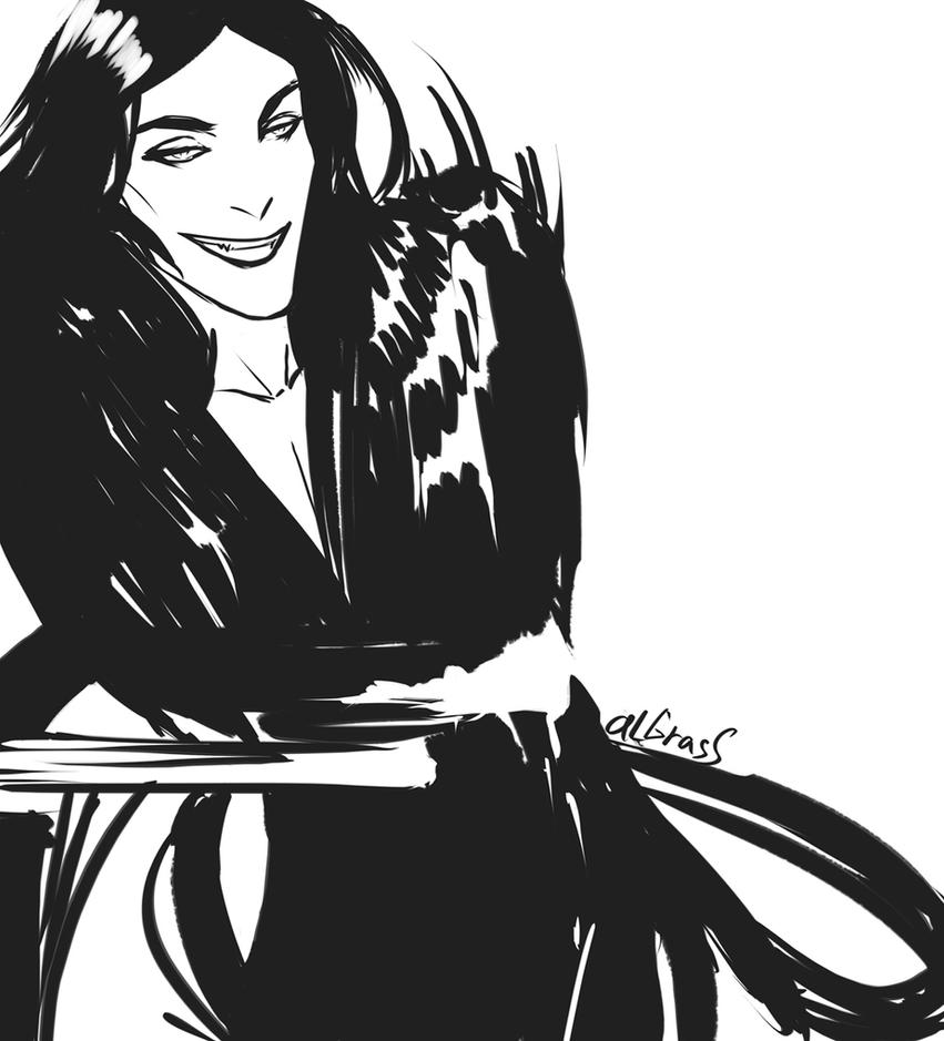 Loki sketch by anastasiyacemetery