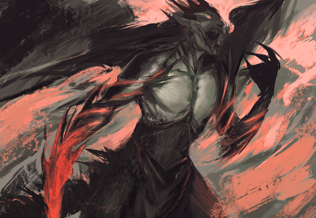 Morgoth by anastasiyacemetery