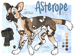 YCH: African Wild Dog Reference [FINISHED]