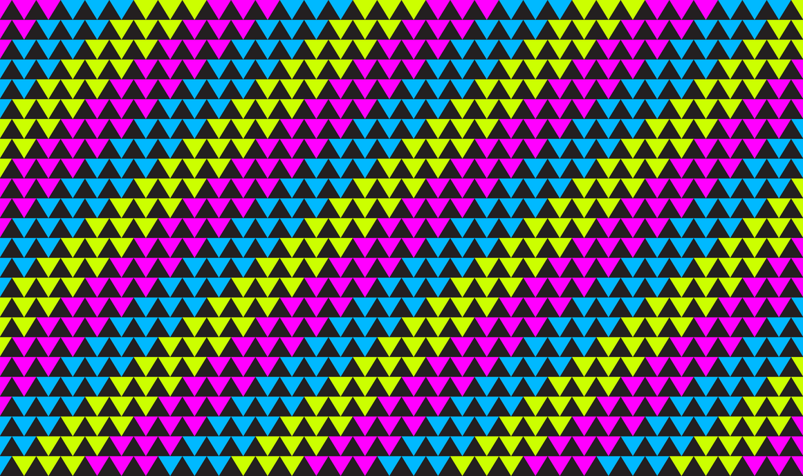 Neon Triangles (Pattern Background) by CaptainDurger on DeviantArt