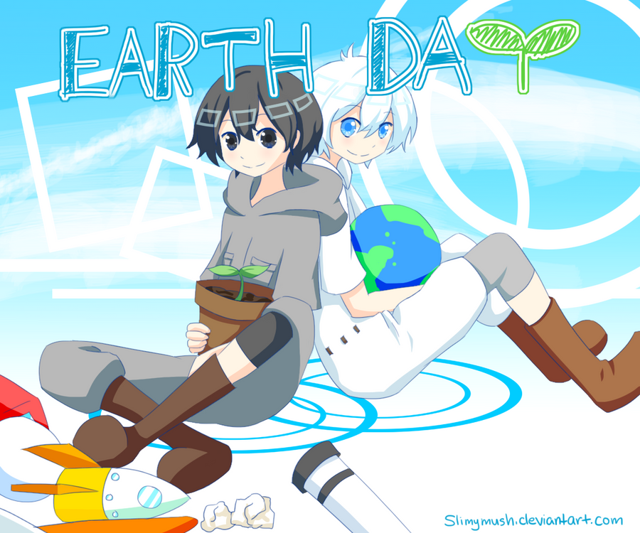 VFAC Day 15: Earth Day by Slimymush