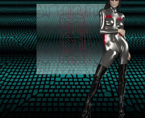 Cyberpunkette Redux