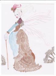 Steampunk fairy-coloured by Oni-Neko