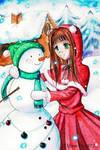 My snowy Friend