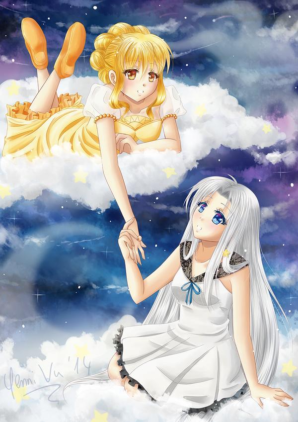 Sun and Moon by Yenni-Vu