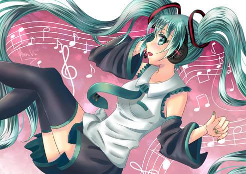 Music, please