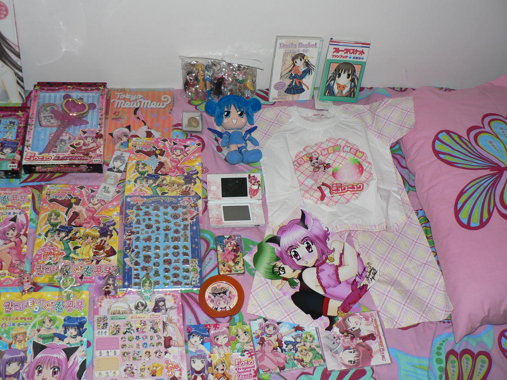 Manga And Anime Merchandise 2 By XMewIchigox