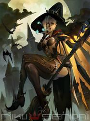 Mercy - Witch by NikuSenpai