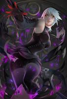 Darkqua - Fanart Legends by NikuSenpai