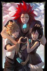 The Wholesome Trio by NikuSenpai