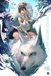 Princess Mononoke by NikuSenpai