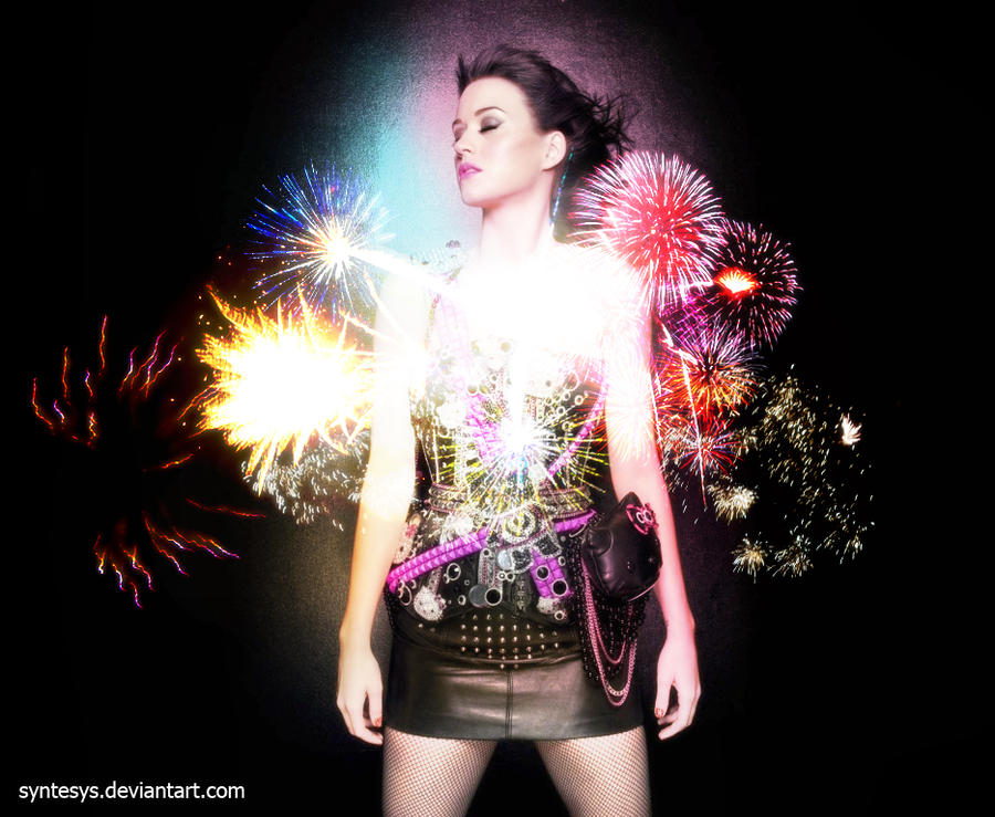 Katy Perry - Fireworks by Syntesys on DeviantArt