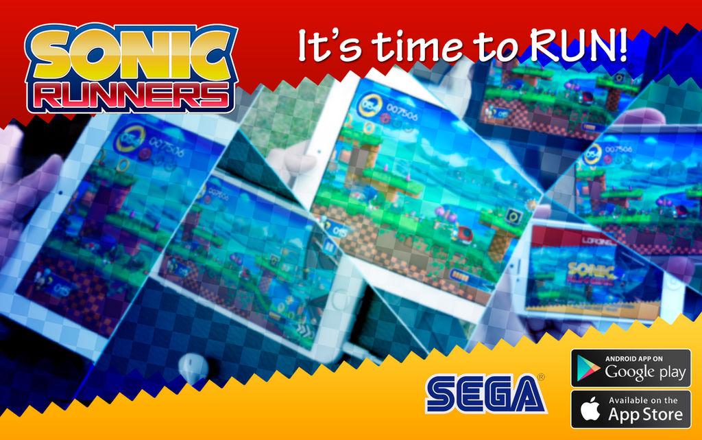 Sonic Runners - Banner [FAN MADE]