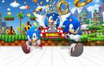 Sonic 25th Anniversary - Wallpaper