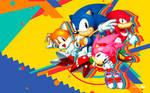 Sonic Mania - Wallpaper [Classic Team]