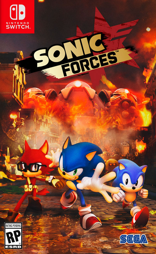 Sonic Forces Nintendo Switch Cover By Nathanlaurindo On Deviantart