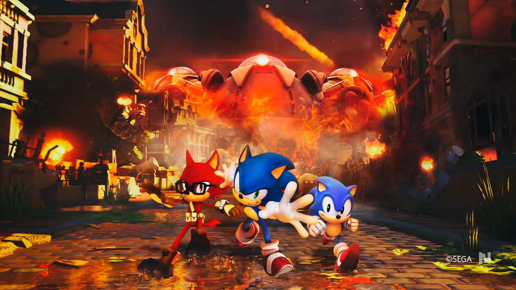 Sonic Forces - Wallpaper by NathanLaurindo on DeviantArt