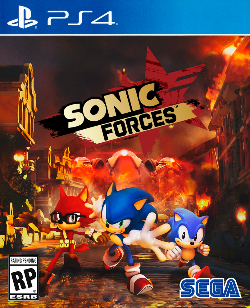 New Sonic Game For Ps4 : Sonic forces ps cover by nathanlaurindo on deviantart