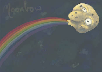 Moonbow by LionelJitro