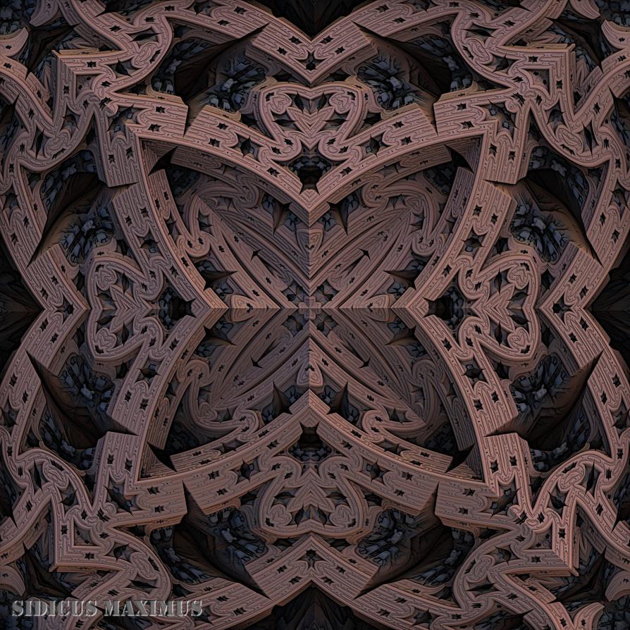 Dark wall pattern by SidicusMaximus