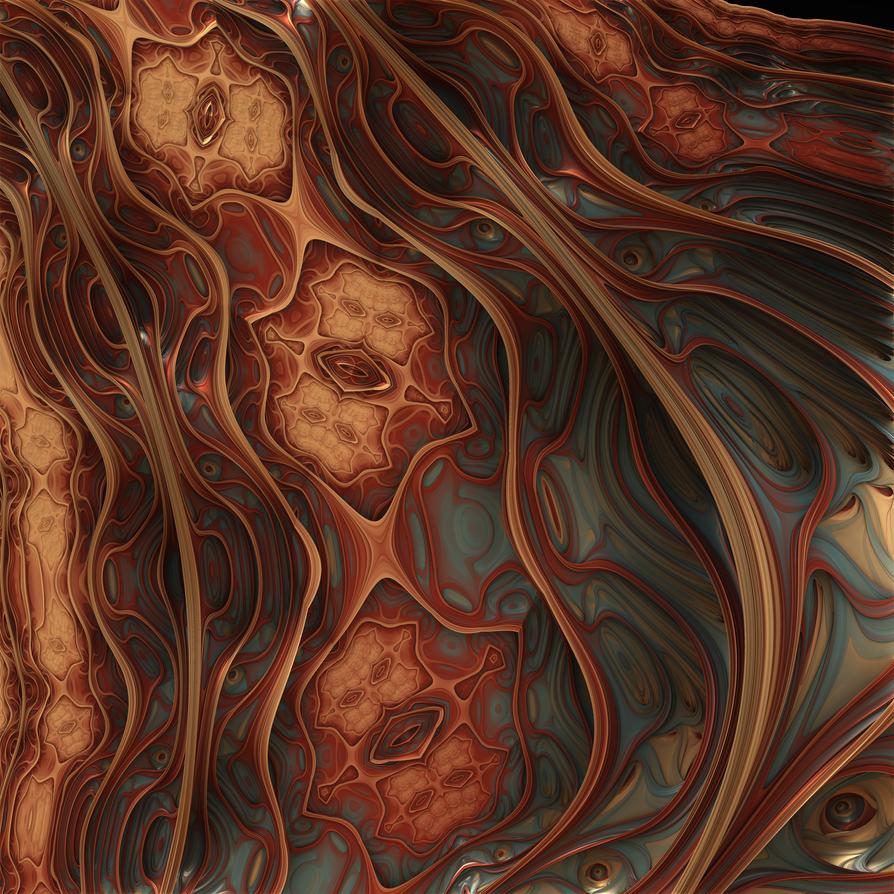 Fractal Sand Dragon Skin by SidicusMaximus