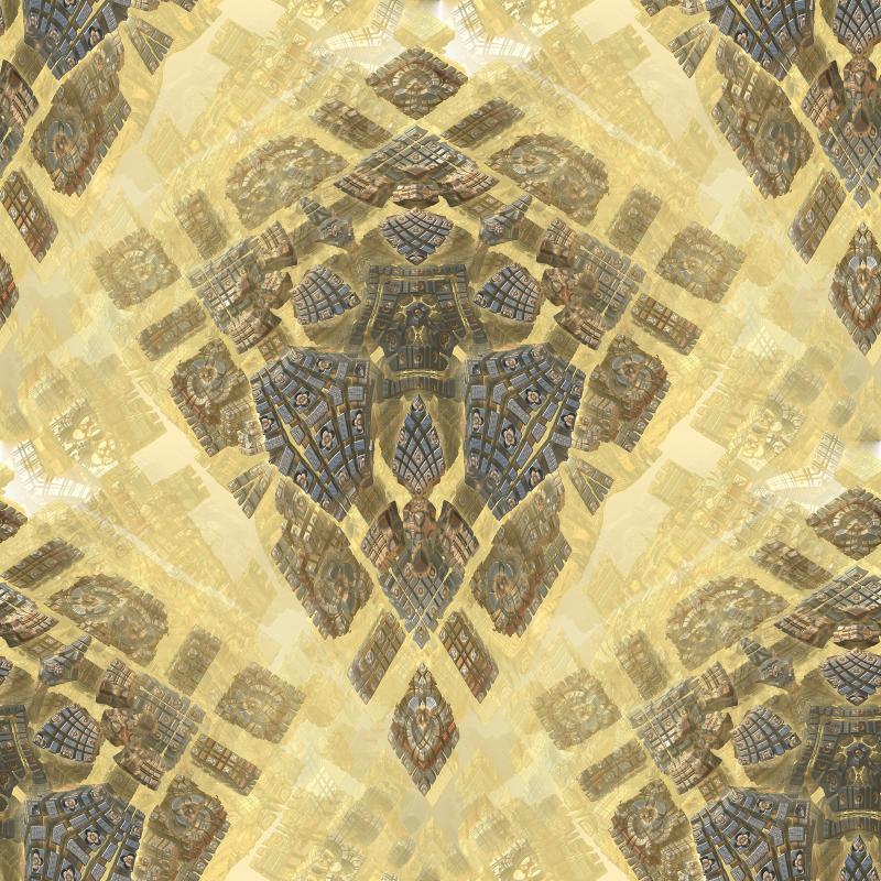 Cross seemless fractal by SidicusMaximus