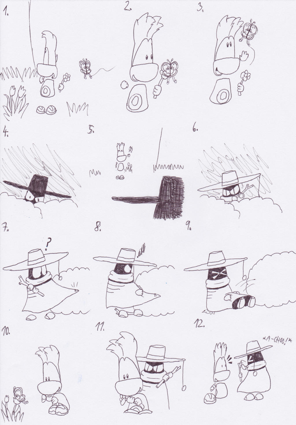 baby rayman comic part 1 by sailorraybloomdz on deviantart