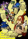 Rayman comic series - 3rd anniversary