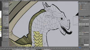 Wings of Fire 3D Model (IN PROCESS) by kajiggad