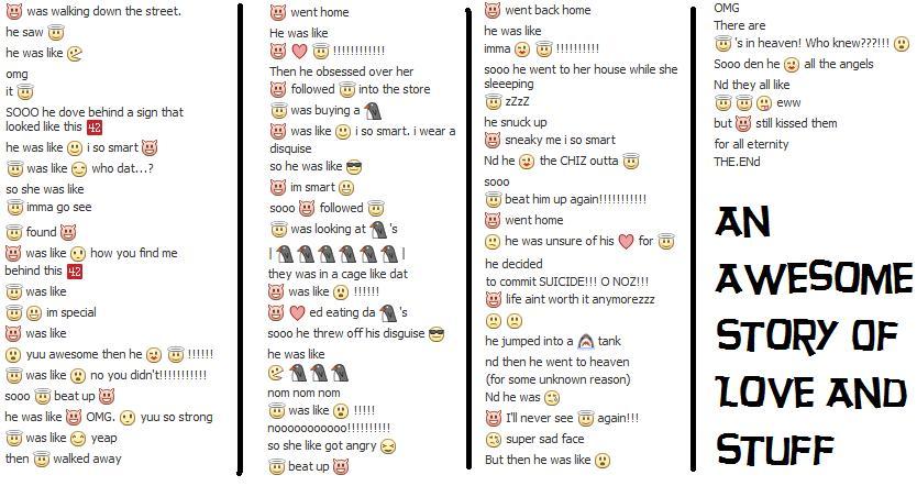 A Love Story Fb Emoticons By Xxxluvstarxxx On Deviantart