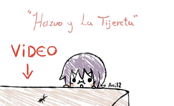 Hazuo y la Tijereta by ani12